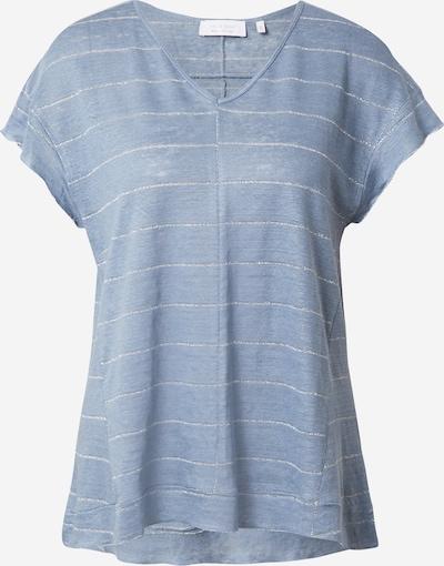 Rich & Royal T-shirt en bleu fumé, Vue avec produit