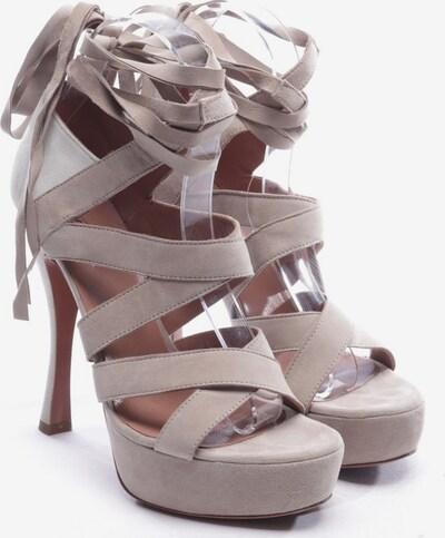 ALAïA Sandaletten in 37 in greige, Produktansicht