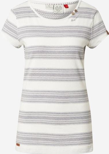 Ragwear T-shirt 'METE' en gris / blanc, Vue avec produit