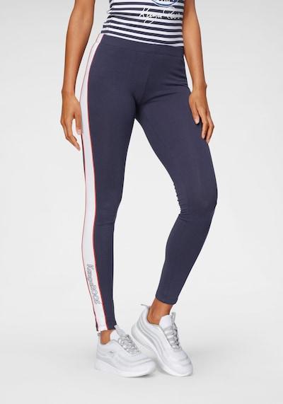 KangaROOS Leggings in dunkelblau / rot / weiß, Modelansicht