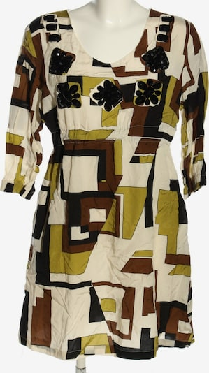 Viventy by Bernd Berger Blouse & Tunic in XL in Bronze / Pastel yellow / Black, Item view