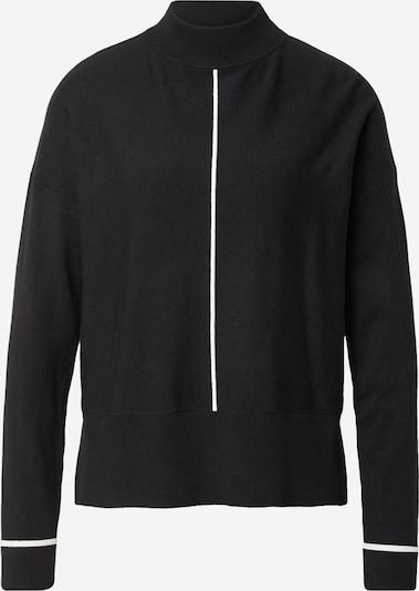 s.Oliver BLACK LABEL Pullover in schwarz / weiß, Produktansicht