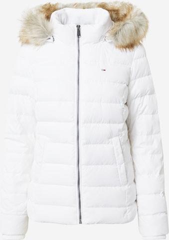 Tommy Jeans Kurtka zimowa w kolorze biały