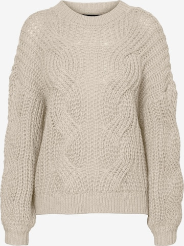VERO MODA Sweater 'Molina' in Grey