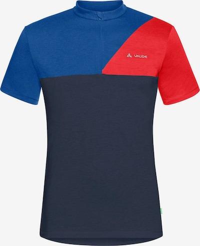 VAUDE T-Shirt in navy / nachtblau / rot, Produktansicht