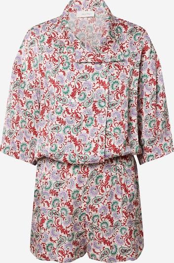 AMERICAN VINTAGE Jumpsuit in grasgrün / lila / rot / weiß, Produktansicht