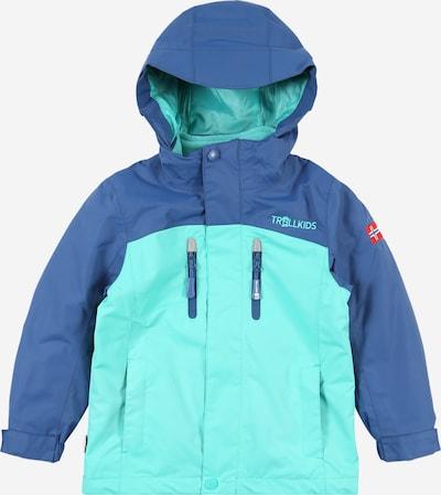 TROLLKIDS Outdoorová bunda 'Bryggen' - tmavě modrá / mátová, Produkt
