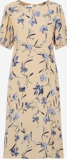 PIECES Kleid in beige / blau, Produktansicht