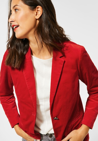 STREET ONE Blazer in rot, Modelansicht