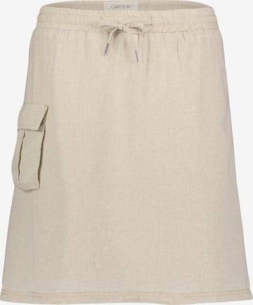 Cartoon Skirt in Beige