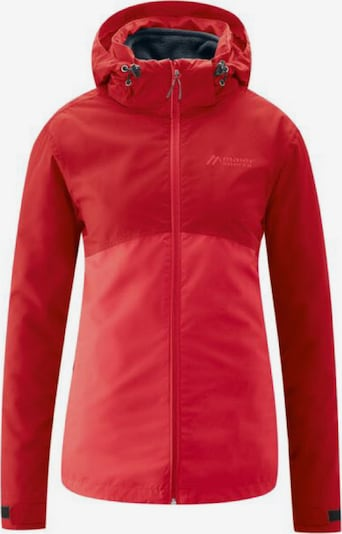 Maier Sports Jacke 'Gregale' in rot / melone, Produktansicht