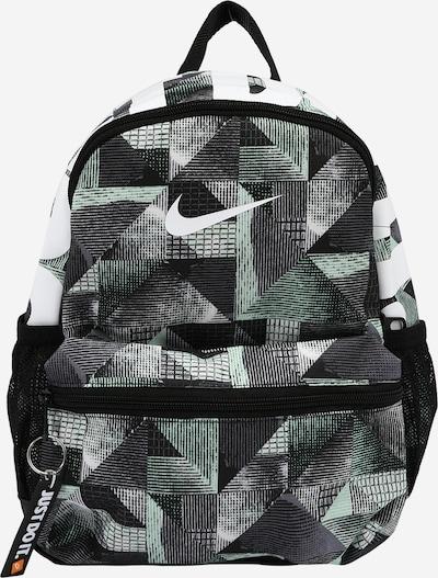 Nike Sportswear Mochila 'Brasilia' en menta / negro / blanco, Vista del producto