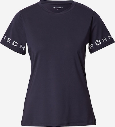 Röhnisch Koszulka funkcyjna 'HERITAGE' w kolorze czarny / srebrnym, Podgląd produktu