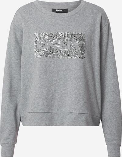 DKNY Sweat-shirt 'SEQUIN' en gris chiné, Vue avec produit