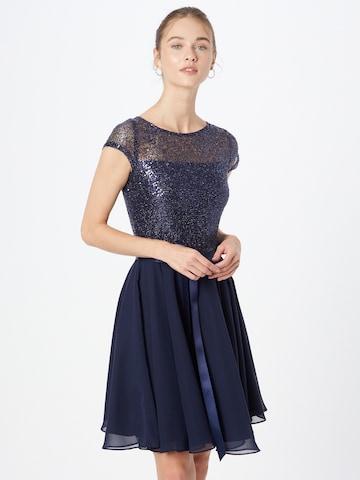 SWING Cocktail Dress in Blue