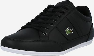 LACOSTE Baskets basses 'CHAYMON' en vert / noir / blanc, Vue avec produit