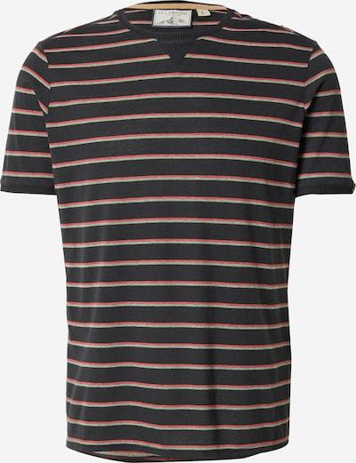 Fli Papigu T-Shirt 'Der 19' in pastellgrün / melone / schwarz, Produktansicht
