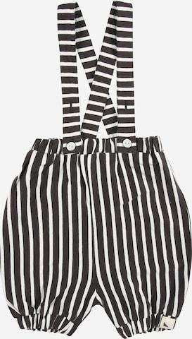 Pantaloni con pettorina di Turtledove London in nero