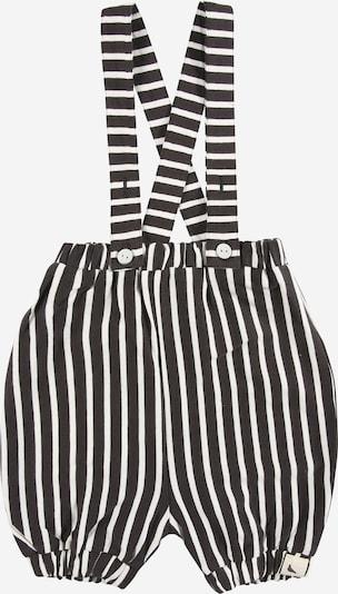 Turtledove London Панталон с презрамки в черно / бяло, Преглед на продукта