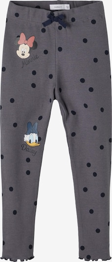 Pantaloni 'MINNIE ASSINAJA' NAME IT pe bleumarin / gri fumuriu / portocaliu pastel / roșu pastel / alb, Vizualizare produs