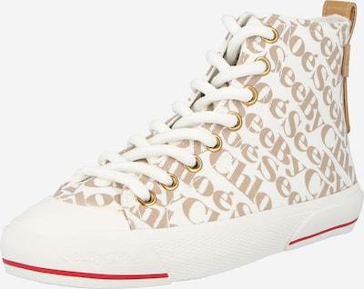 Sneaker înalt 'ARYANA' See by Chloé pe bej / maro, Vizualizare produs