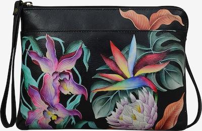 ANUSCHKA Umhängetasche 'Island Escape' aus handbemaltem Leder in mischfarben, Produktansicht