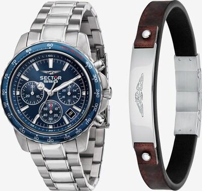 SECTOR Analoog horloge in de kleur Bruin / Zilver, Productweergave