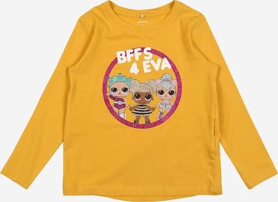 NAME IT Shirt 'Flol' in senf / mischfarben, Produktansicht