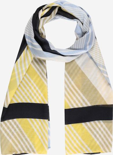 MORE & MORE Šal u morsko plava / svijetloplava / žuta / bijela, Pregled proizvoda