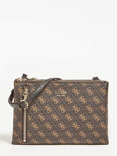 GUESS Crossbody bag 'Naya' in Light brown / Dark brown, Item view