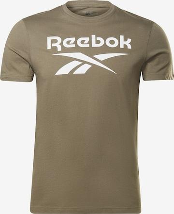 Reebok Sport T-Shirt in Grün