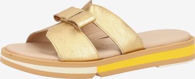 Wonders Muiltjes in de kleur Goud, Productweergave