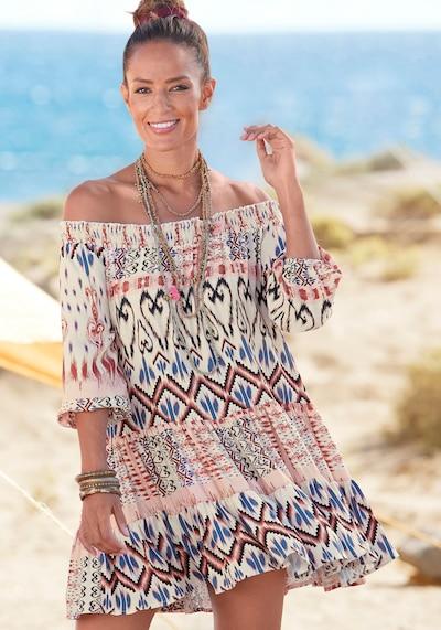 BUFFALO Kleid in creme / mischfarben, Modelansicht