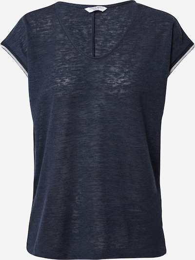 ZABAIONE Тениска 'Lou' в нейви синьо / сребърно, Преглед на продукта