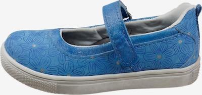 Pio Ballerina 'BLUMEN' in blau, Produktansicht