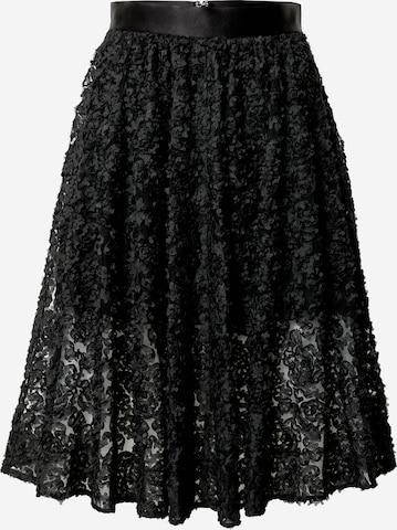 Custommade Skirt 'Robina' in Black