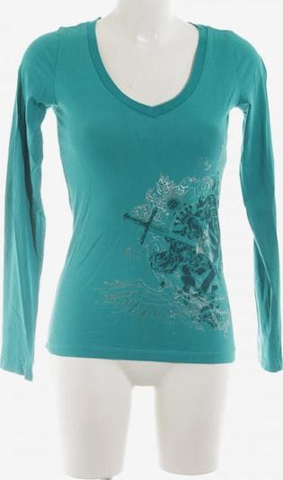 MOGUL Sweatshirt & Zip-Up Hoodie in S in Turquoise / Silver, Item view