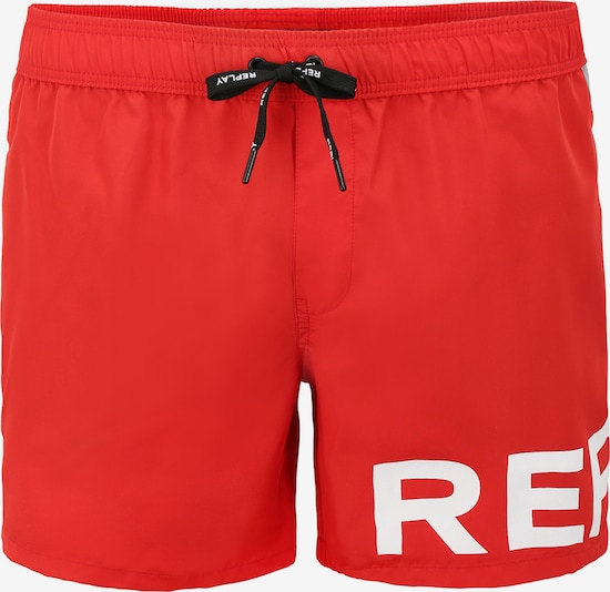 REPLAY Zwemshorts in Rood PhcTfOOR