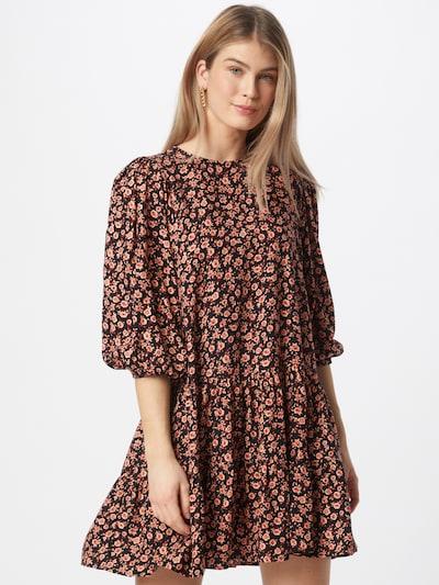 Motel Kleid 'MARETA' in altrosa / pastellrot / schwarz, Modelansicht
