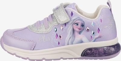 GEOX Sneaker 'Die Eiskönigin' in flieder / mischfarben / silber, Produktansicht