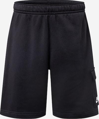 Nike Sportswear Cargo hlače 'Club' u crna / bijela, Pregled proizvoda