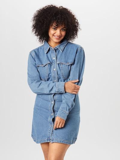 Missguided Plus Sukienka koszulowa w kolorze niebieski denimm: Widok z przodu