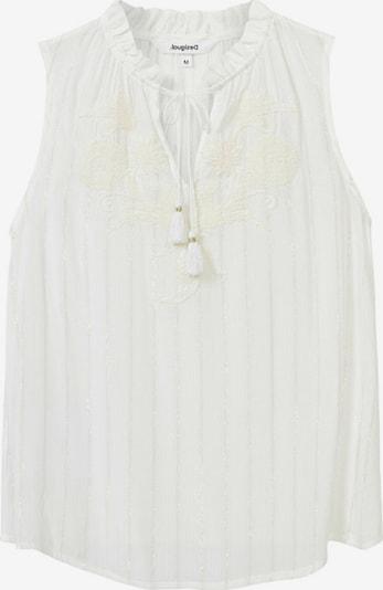 Bluză 'HANNA' Desigual pe alb, Vizualizare produs