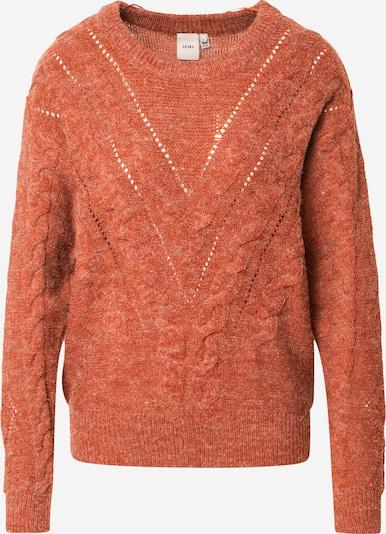 ICHI Jersey en beige moteado / marrón rojizo, Vista del producto