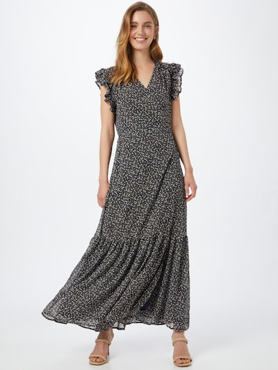 Stella Nova Kleid 'Tyra Lou' in khaki / rosa / schwarz / weiß, Modelansicht