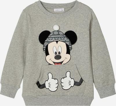 Megztinis be užsegimo 'Mickey Mouse' iš NAME IT , spalva - pilka / juoda, Prekių apžvalga