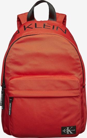 Calvin Klein Jeans Rucksack in rot / schwarz, Produktansicht
