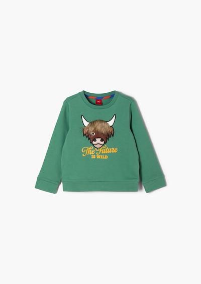 s.Oliver Sweater in grün, Produktansicht