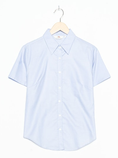 FRUIT OF THE LOOM Bluse in M-L in blau, Produktansicht
