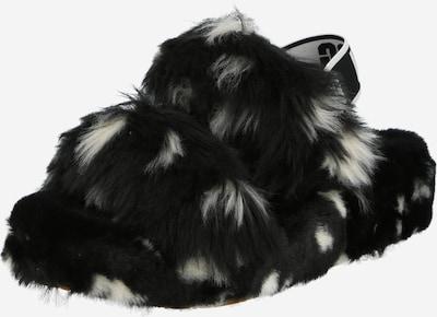 UGG Zapatillas de casa 'OH YEAH' en negro / blanco, Vista del producto